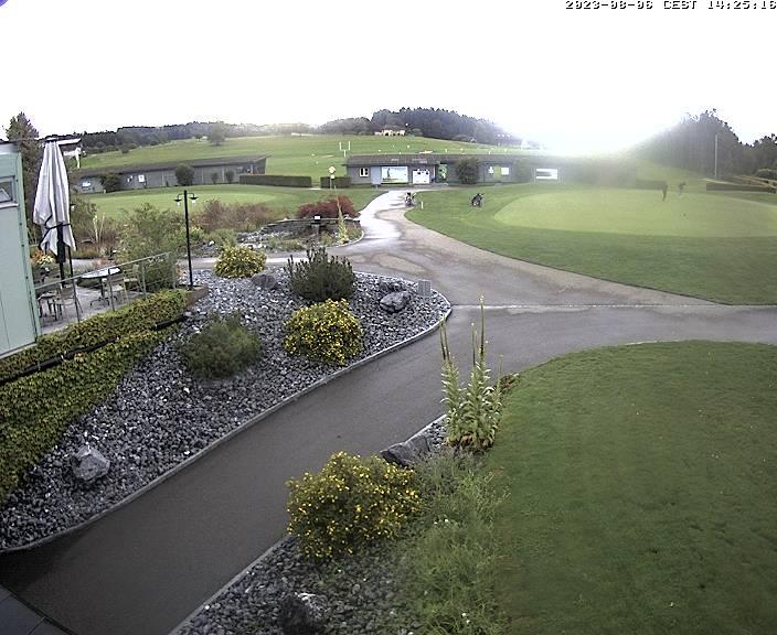 Waldkirch Golfplatz mit Säntis
